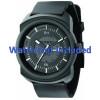 Pasek do zegarka Diesel DZ1262 Gumowy Czarny 26mm