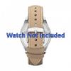 Pasek do zegarka Fossil ES2997 Skórzany Beżowy 18mm