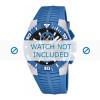 Pasek do zegarka Lotus 15778-3 Gumowy Jasny niebieski 26mm