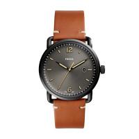 Fossil The Commuter 3H Date FS5276 Analoog Quartz horloge Herenhorloge