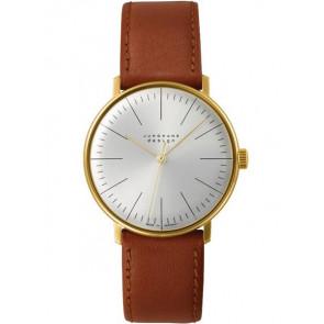 Pasek do zegarka Junghans 027/5703.00 Skórzany Jasnobrązowy