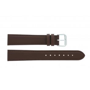 Pasek do zegarka Uniwersalny 054.02 Skórzany Brązowy 10mm