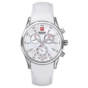 Pasek do zegarka Swiss Military Hanowa 06.6156.04.001-87 Skórzany Biały