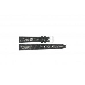 Pasek do zegarka Condor 082R.01 Skórzany Czarny 12mm