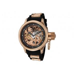 Pasek do zegarka Invicta 1090.01 / 10136.01 / 17267.01 Gumowy Czarny