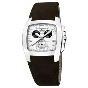 Pasek do zegarka Lotus 15321-1 Skórzany Czarny