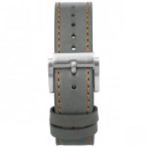 Pasek do zegarka Prisma 1591 Skórzany Szary 22mm
