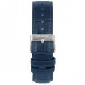 Pasek do zegarka Prisma 1601 Skórzany Niebieski 21mm