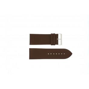 WoW horlogeband Pebro 169-30 Leder Bruin 30mm