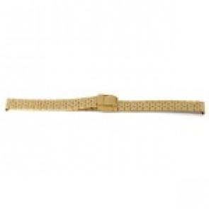 Pasek do zegarka Prisma 1691 Stal nierdzewna Pozłacany 16mm