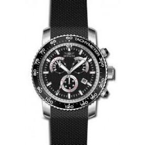 Pasek do zegarka Invicta 17773 Krzem Czarny 22mm