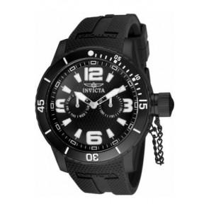 Pasek do zegarka Invicta 1794.01 Gumowy Czarny 24mm