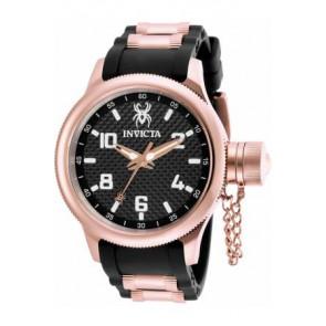 Pasek do zegarka Invicta 17948 Gumowy Czarny