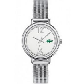 Lacoste horlogeband 2000538 / LC-33-3-14-2200 Staal Zilver 14mm