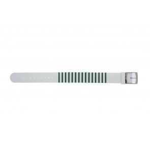 Lacoste horlogeband 2000892 / LC-84-3-14-2596 Silicoon Groen 18mm