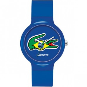 Lacoste horlogeband LC-46-4-47-2503 / 2020069 / 20mm Rubber Multicolor 14mm