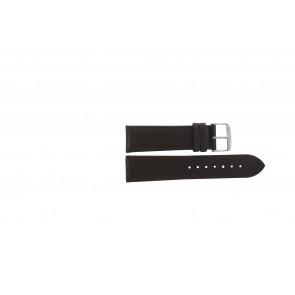 Pasek do zegarka Uniwersalny 283R.02 Skórzany Brązowy 24mm