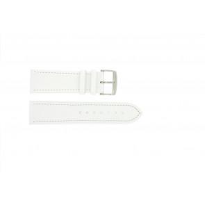 Prawdziwy Skóra Biały 24mm Pvk-283