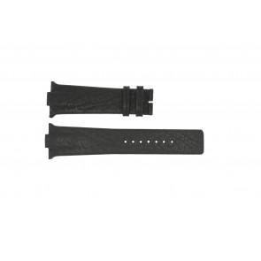 Pasek do zegarka Boccia 3519-02 / 3519-03 Skórzany Czarny 28mm