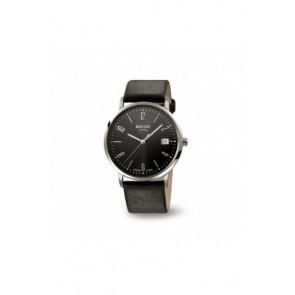 Pasek do zegarka Boccia 3557-01 / 3557-02 / 3557 / 811 X410S21 Skórzany Czarny 21mm