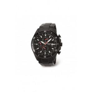 Pasek do zegarka Boccia 3762-03 / 811 A3762AQSXC Stal Czarny 21mm