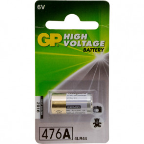 GP 476AF-2C1 - 4LR44 - 476A 6V alkaline 13.0 mm x 25.2mm