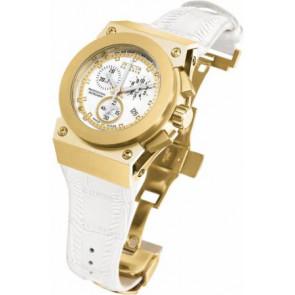 Pasek do zegarka Invicta 5574.01 Skórzany Biały
