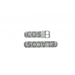 Lacoste horlogeband LC-46-1-29-2224 / 609302262 / 2010532 Silicoon Wit 14mm