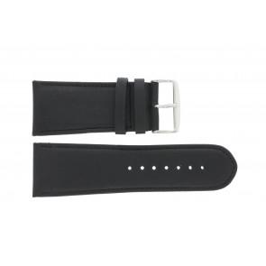 Horlogeband 61215B.10.28 Leder Zwart 28mm + standaard stiksel