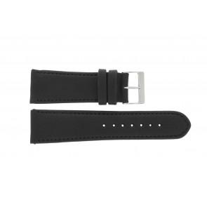 Pasek do zegarka Uniwersalny 61215B.10.26 Skórzany Czarny 26mm