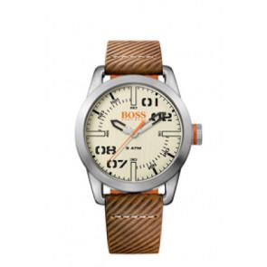 Pasek do zegarka Hugo Boss HB-291-1-14-2938 / 659302741 Skórzany Brązowy 22mm
