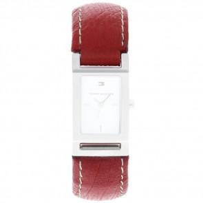 Pasek do zegarka Tommy Hilfiger 679300818-8471503 Skórzany Czerwony