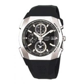 Pasek do zegarka Pulsar 7T62-X121 Plastikowy Czarny