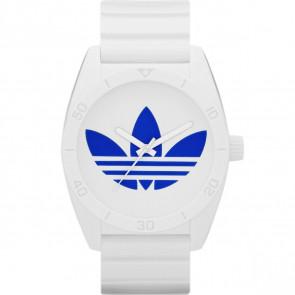 Pasek do zegarka Adidas ADH2704 Gumowy Biały 22mm