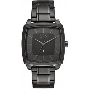 Pasek do zegarka Armani Exchange AX2361 Stal Czarny 22mm