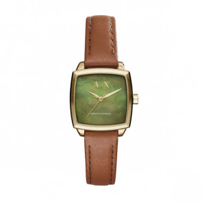 Pasek do zegarka Armani Exchange AX5451 Skórzany Koniak 16mm
