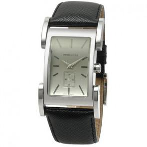 Pasek do zegarka Burberry BU1100 Skórzany Czarny 26mm