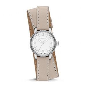 Pasek do zegarka Burberry BU7847 Skórzany Beżowy