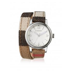 Pasek do zegarka Burberry BU7849 Skórzany Wielobarwność