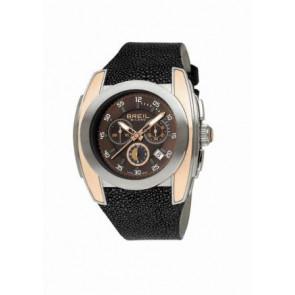 Pasek do zegarka BW0380 Skórzany Czarny 26mm