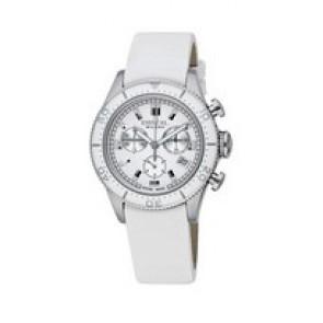 Pasek do zegarka Breil BW0502 Skórzany Biały 20mm