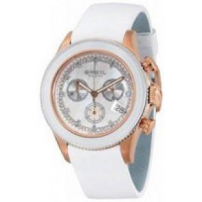 Pasek do zegarka Breil BW0516 Skórzany Biały