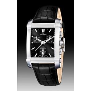 Pasek do zegarka Candino C4284/H Skórzany Czarny 22mm