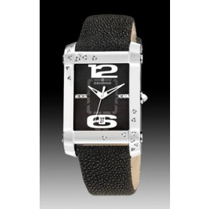 Pasek do zegarka Candino C4299-4 Skórzany Czarny 22mm