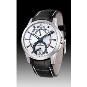 Pasek do zegarka Candino C4387/2 Skórzany Czarny