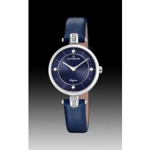 Pasek do zegarka Candino C4658-3 Skórzany Niebieski