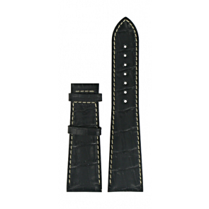 Pasek do zegarka Certina C610014032 XL Skórzany Czarny 23mm