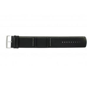 Pasek do zegarka Camel BC51022 Skórzany Czarny 26mm
