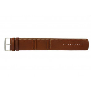 Pasek do zegarka Camel BC51023 Skórzany Brązowy 27mm