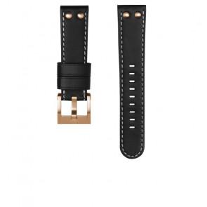 Pasek do zegarka TW Steel CEB105 / CE105 Skórzany Czarny 22mm